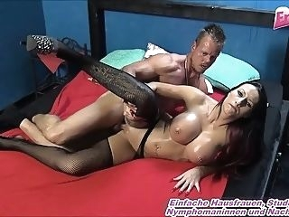 cumshot brunette big boobs